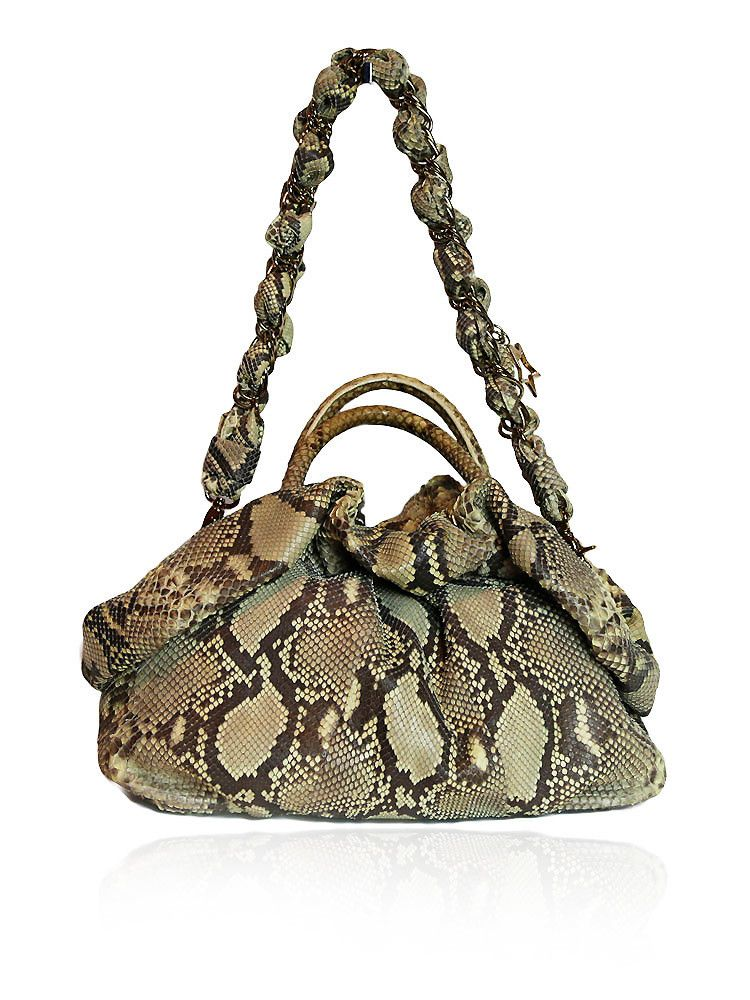 CORTO MOLTEDO Python Hobo Bag In Gray $1500.00  http://www.boutiqueon57.com/products/corto-moltedo-python-hobo-bag-in-gray