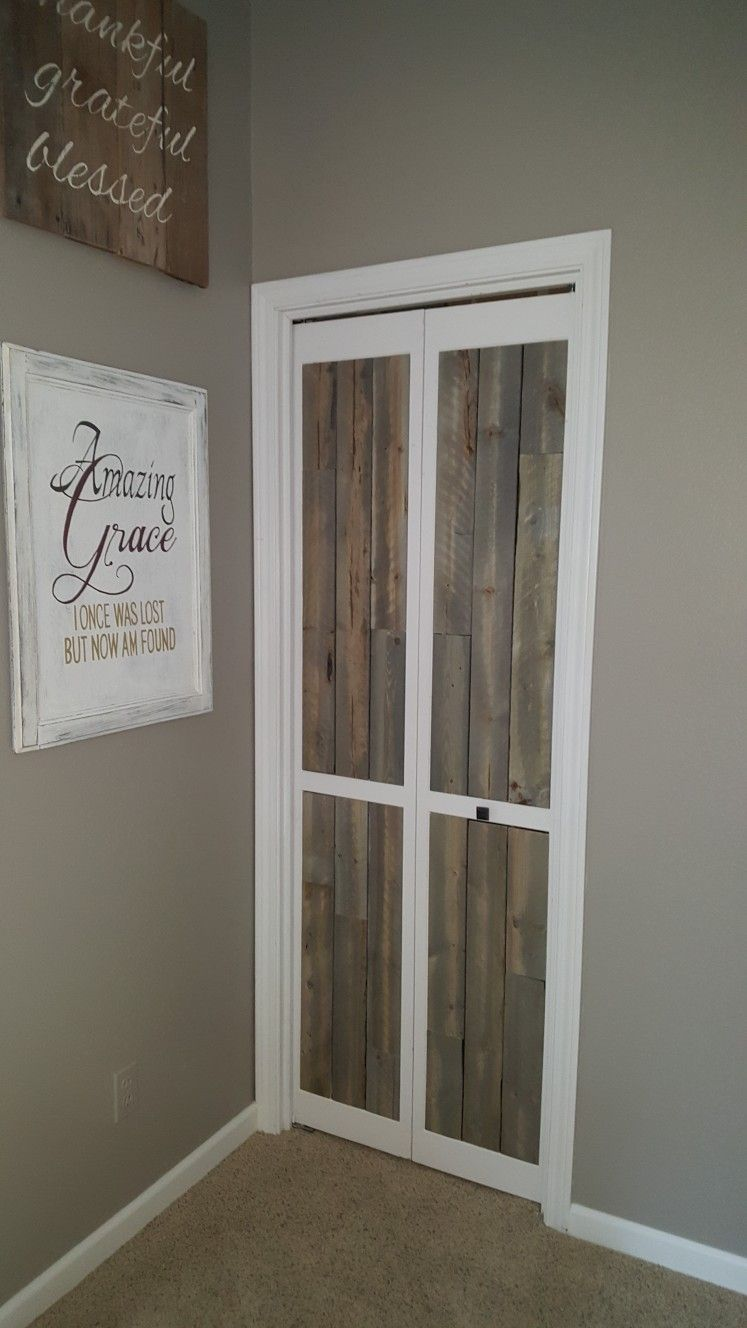 Louvered Door Makeover For Less Tban 20 Door Makeover Home