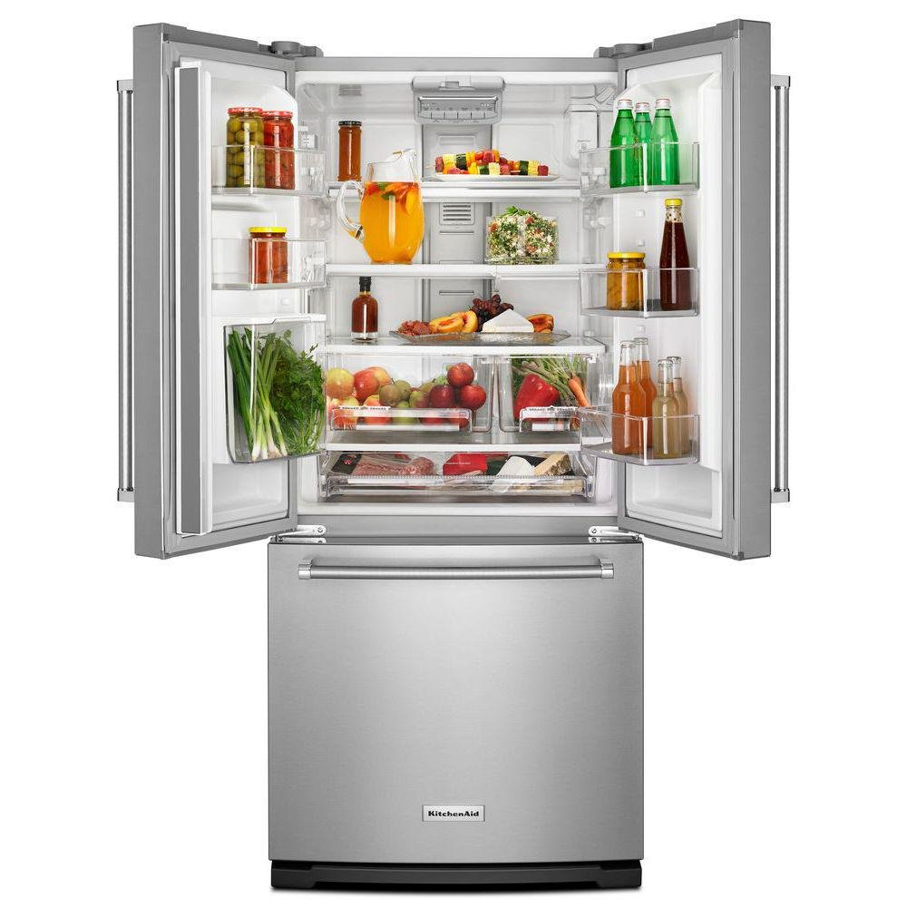 Kitchenaid French Door Refrigerator 30 Inch Stainless Steel In