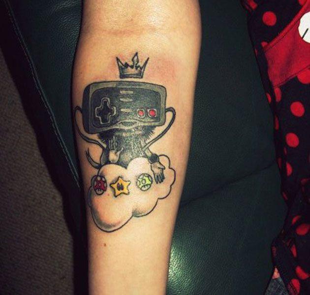 Tatuaje Nintendo