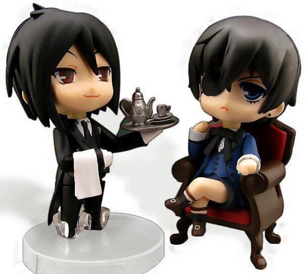 Kuroshitsuji Nendoroid Sebastian Michaelis PVC Figure Toys New With Original Box