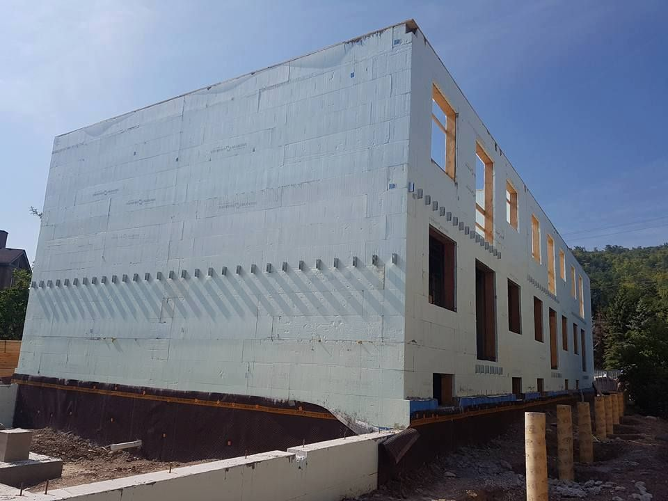 icf home designs%0A Construction    ICF  Insulated Concrete Forming ICFToTheRoof  EruditeConstruction