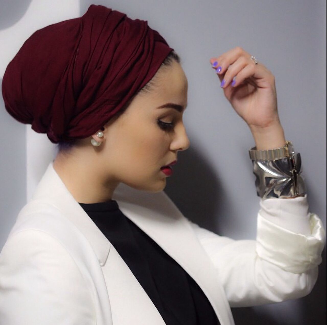 LQQSTORE-Chapeau Voile Musulman Femme Foulard Femme Musulman