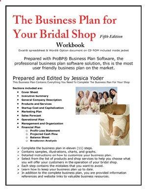 Business Plan For Your Bridal Shop  Self Help
