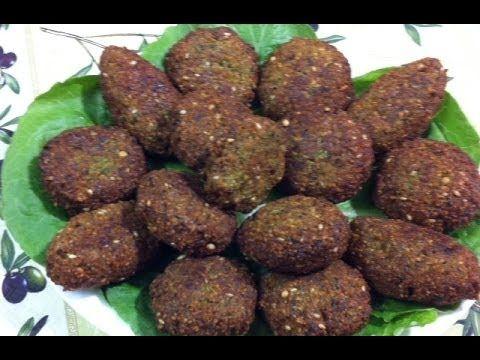 طريقة عمل فلافل بالحمص How To Make Chickpeas Ball Falafel Playlist Vegetarian Dishes Recipes Lebanese Recipes