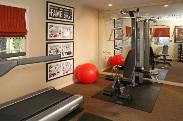comic strip decor inspirations for the contemporary home home gym rh pinterest co uk