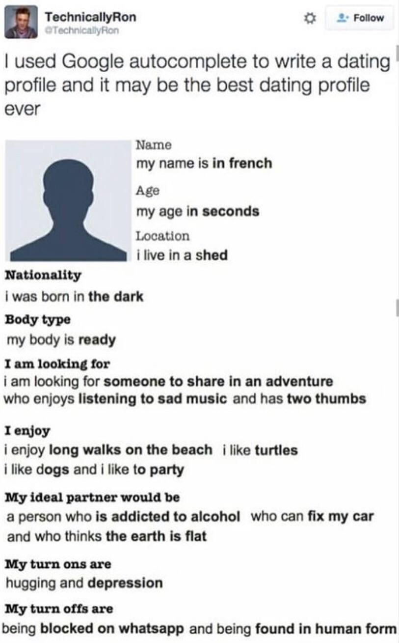 Brianbaccusbrands Chuckle In 2020 Funny Dating Profiles Tumblr Funny Memes