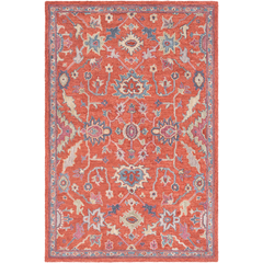 Joi 1004 Surya Rugs Lighting Pillows Wall Decor Accent Furniture Decorative Accents Throws Bedding Area Rugs Blue Area Rugs Traditional Area Rugs