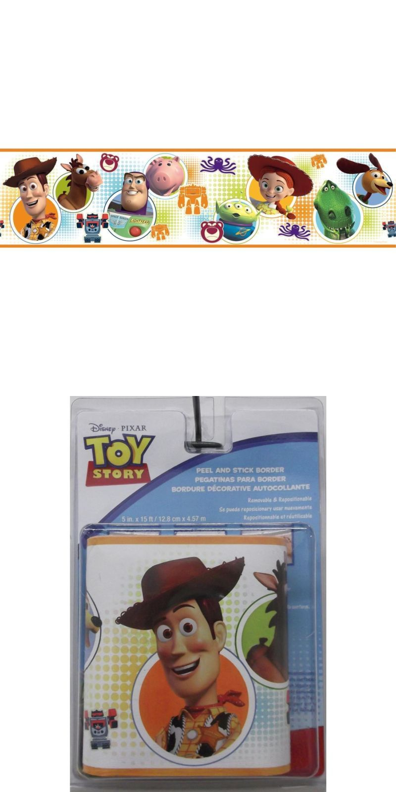 Bedroom Playroom and Dorm D cor 115970 New Toy Story