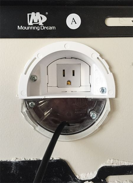 how to hide tv wires for a cord free wall diy projects pinterest rh pinterest com in wall tv wire
