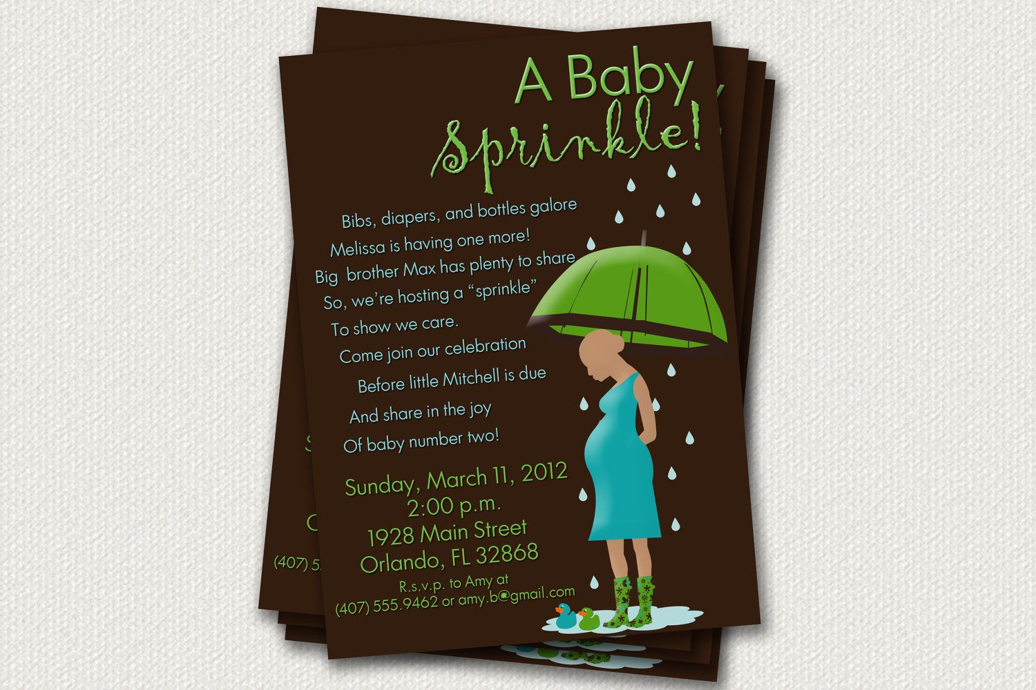 baby shower invitation wording for bringing diapers%0A Baby Sprinkle Invitations cute wording