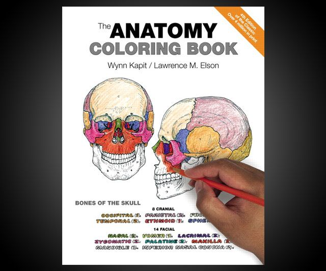 The Anatomy Coloring Book | Colour book, Anatomy and Coloring books