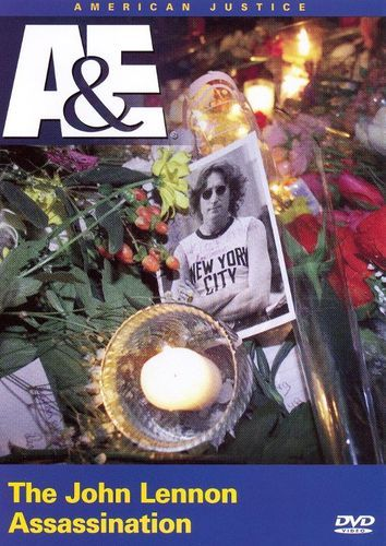 American Justice The John Lennon Assassination Dvd 1997 Best Buy John Lennon Lennon Dvd