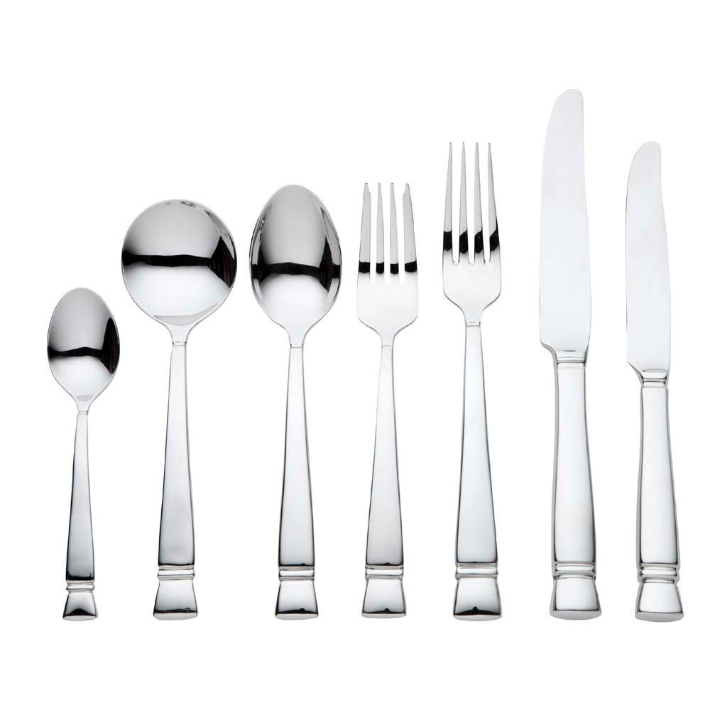 vera wang wedgwood cabochon cutlery 56 piece cutlery set own this
