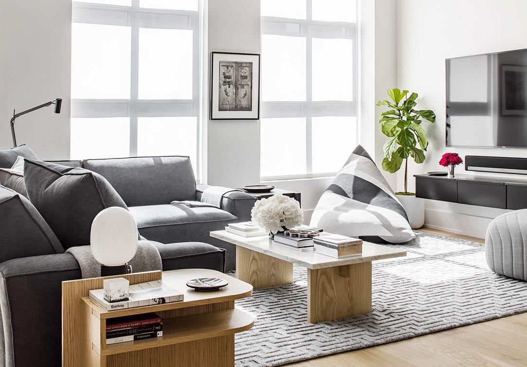 living room poufs%0A Decor styles