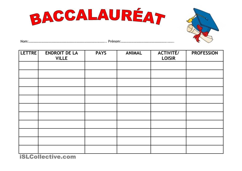 """Résultat de recherche d'images pour """"jeu du baccalaureat ce2"""""""