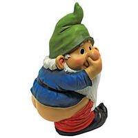 Stinky, the Garden Gnome Statue