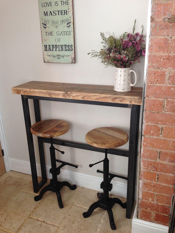 industrial mill style reclaimed wood breakfast bar www rh pinterest com