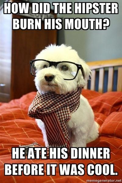 Dinner is so mainstream.