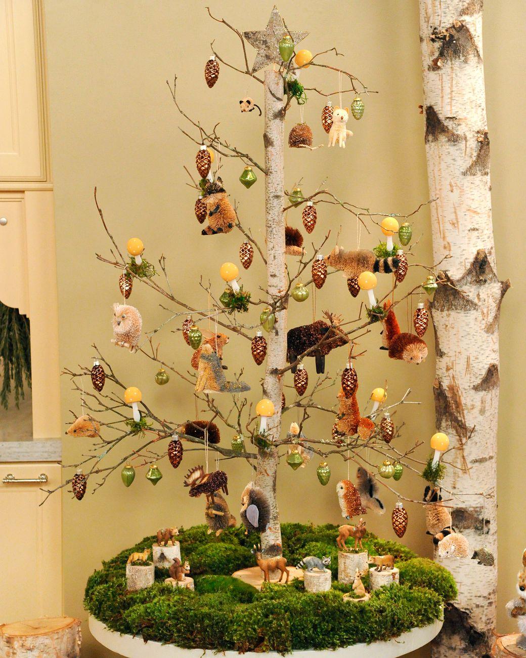 birch tabletop tree happy holidays tabletop christmas tree rh pinterest com