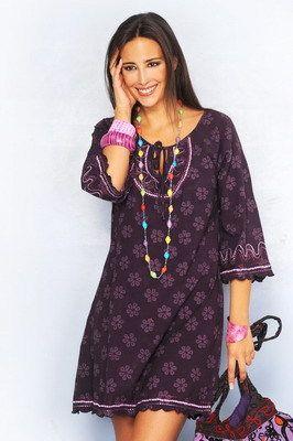 Vestidos hindu cortos de fiesta