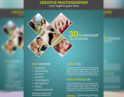 Check Out My Behance Project Photography Flyer HttpsWww