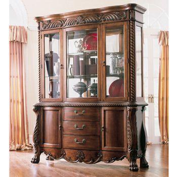 Famous Pheasant Run China Buffet by Ashley Furniture, D452-80-81  RJ84