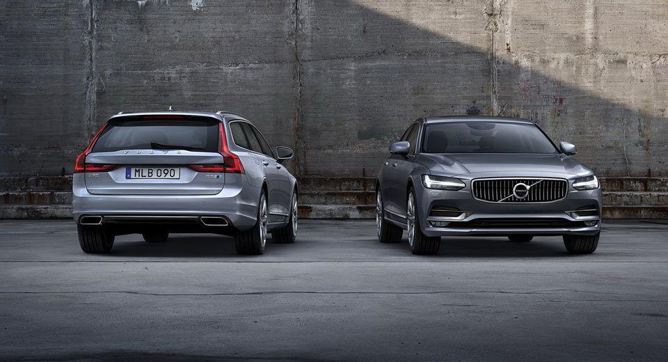 New Volvo S90 And V90 Polestar Models To Get Hybrid Power Goruntuler Ile