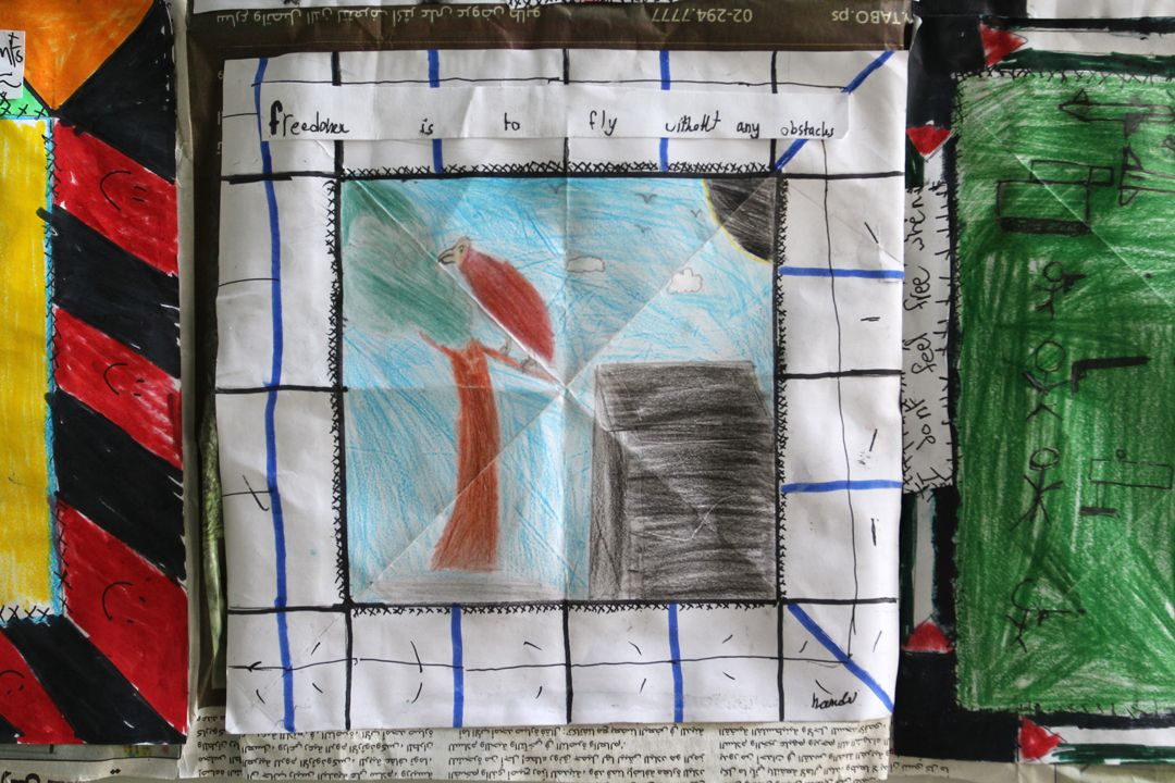 6th Grade Story Quilt Nablus Palestine Book Cover Quilts Theme