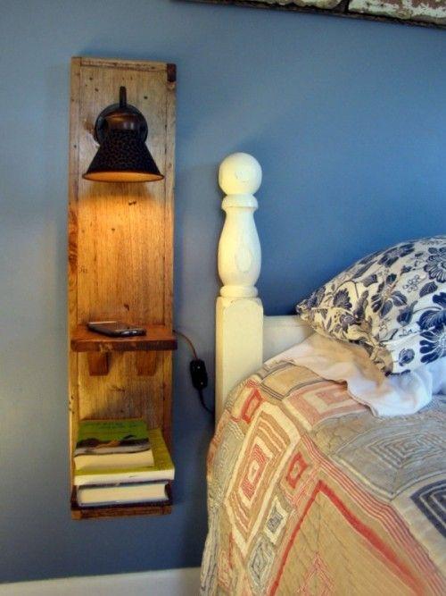 DIY Nachttisch-Ideen mit originellem Vintage Design und praktischem Charakter – Fresh Ideen für das Interieur, Dekoration und Landschaft