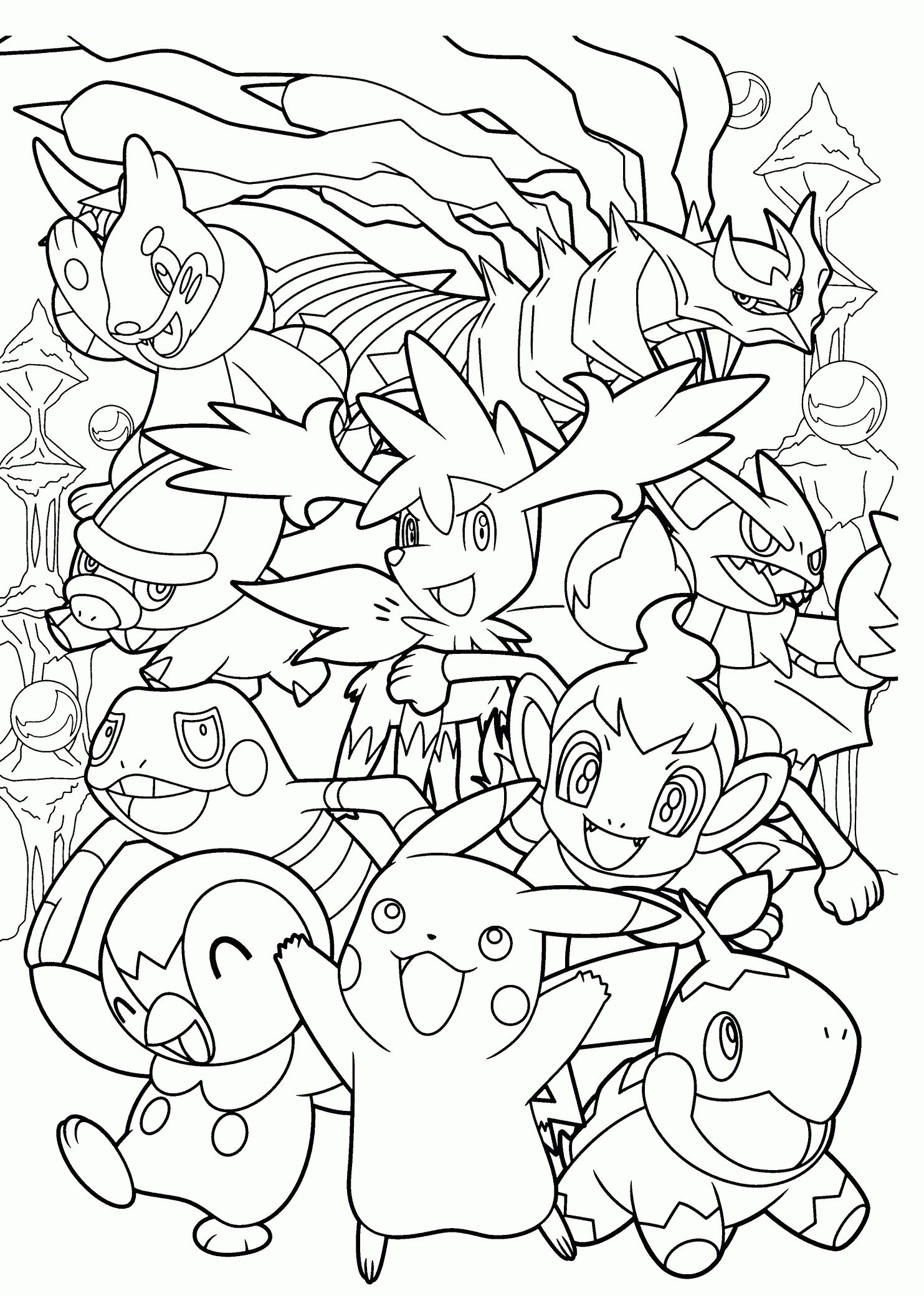 All Pokemon Coloring Pages Pokemon Coloring Sheets Pokemon Coloring Pikachu Coloring Page