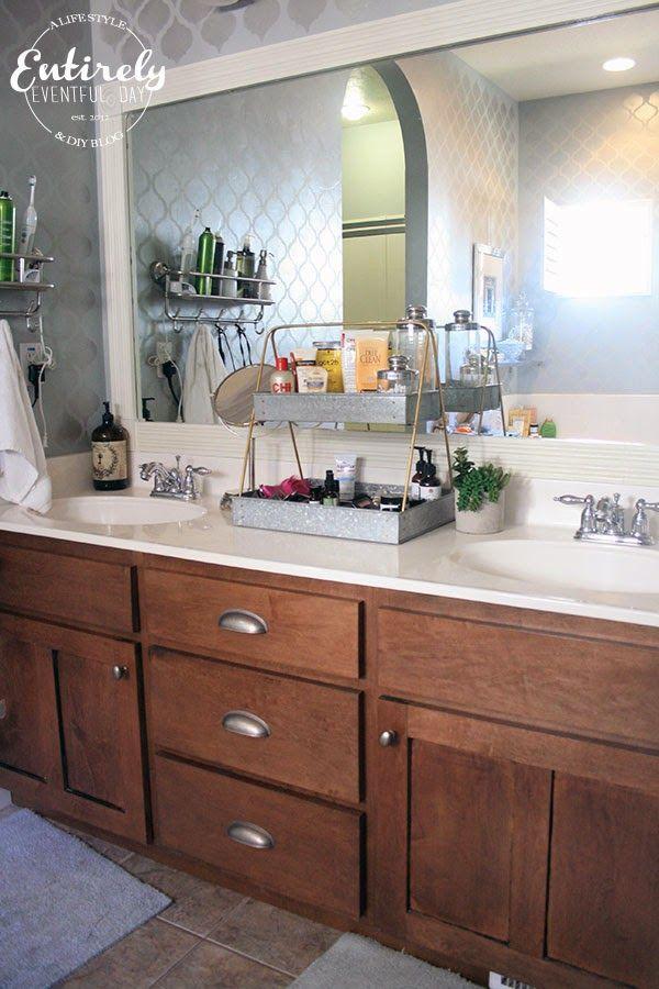 creative bathroom counter organizing idea bathroom counter organization counter organization on kitchen counter organization id=46463