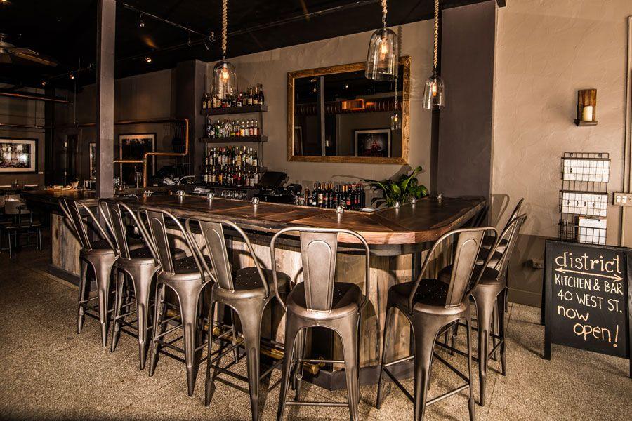 Pittsfield District Kitchen Bar A Contemporary American Restaurant American Restaurant Kitchen Bar Restaurant