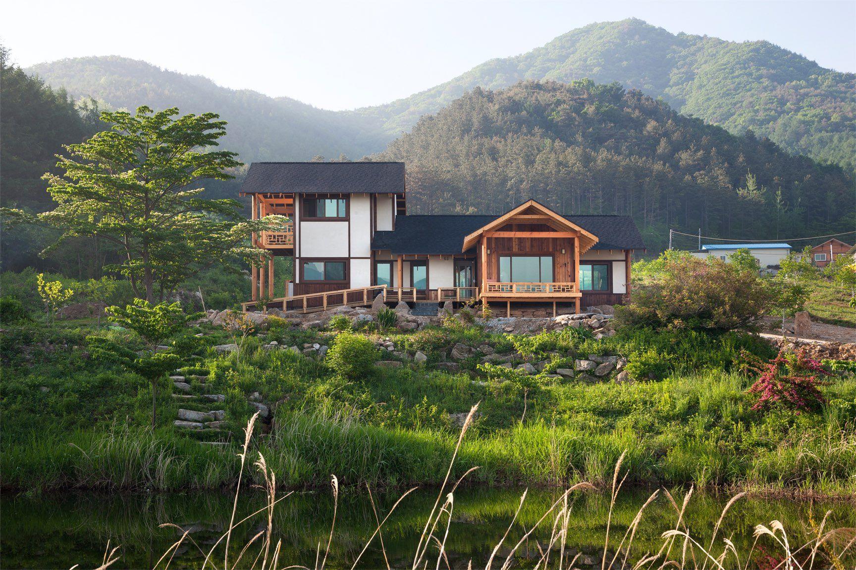Koreanische Kunst, Haus Design, Erstaunliche Häuser, Moderne Architektur,  Moderne Häuser, Studios, Projekte, Natur, Sweetie Belle
