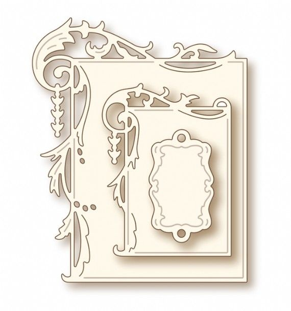 Wild Rose Studio Specialty Craft Die - Elegant Frames