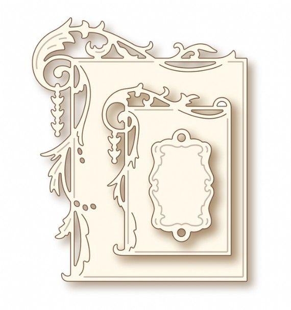 Wild Rose Studio Specialty Craft Die - Elegant Frames