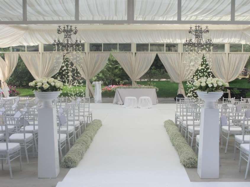 Ville di lusso per matrimoni in Campania Orangerie di