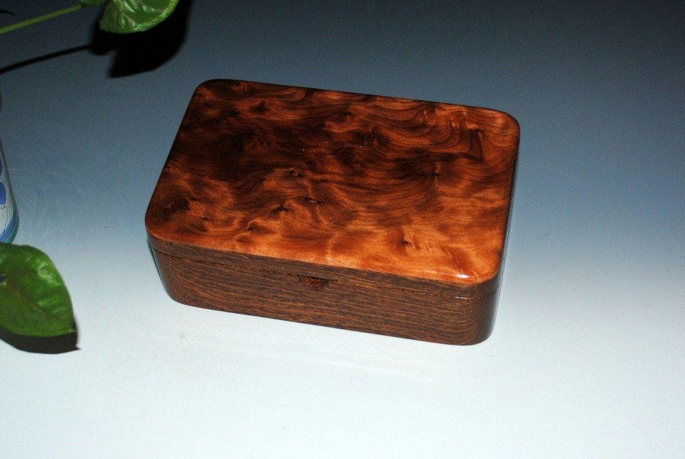 Handmade Wood Stash Box, Wood Box, Wood Jewelry Box