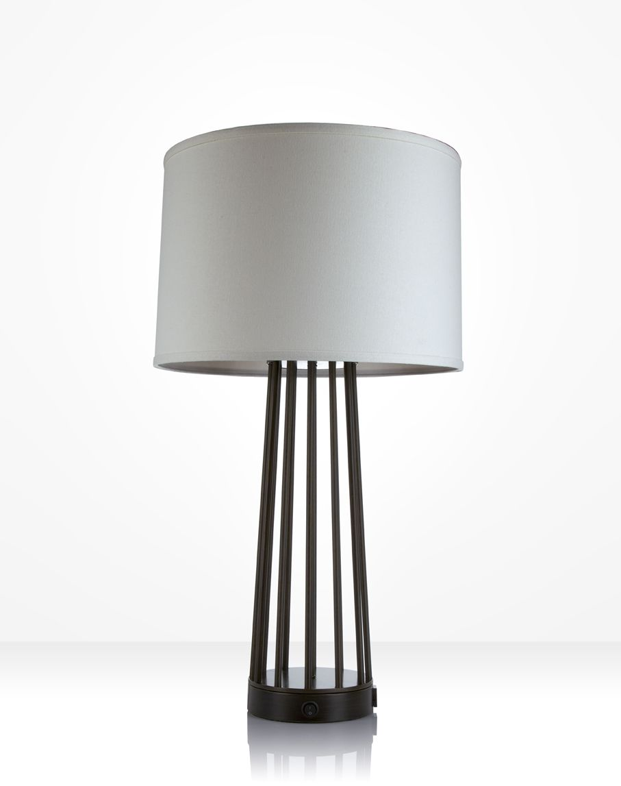 Lampe De Table Design En Bois En Bois De Chene Lampe Avec Abat Jour Demi Design Moderne Loda Par Lune Et Animo Wooden Design Lamp Design Wooden Lamp
