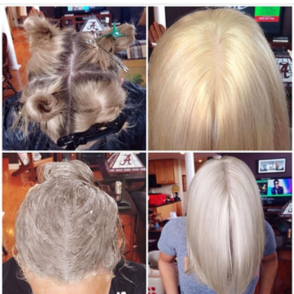 How To From Golden To Icy Blonde Icy Blonde Hair Color