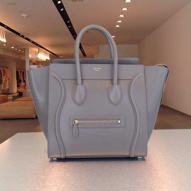 Love It Grey Celine Bag In 2019 Luggage