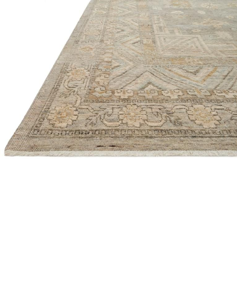 Meridian Hand Knotted Rug Ash 9 X 12 Hand Knotted