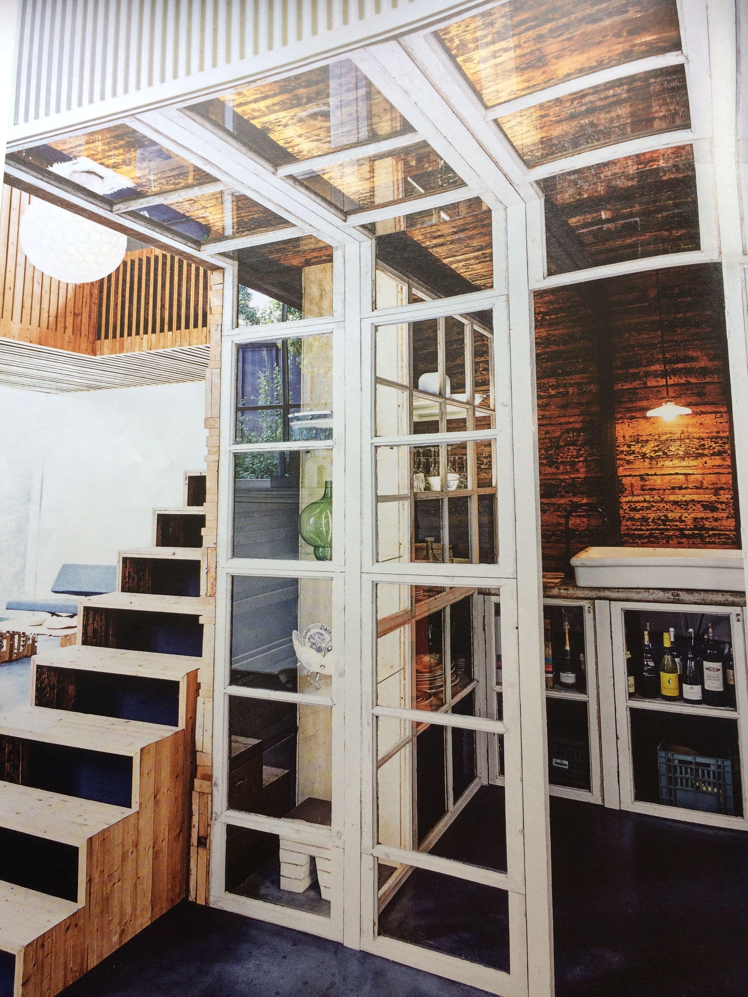 Zelfbouw serre, raampartij, inpandige ruimte | Huis * Woon- Eetkamer ...