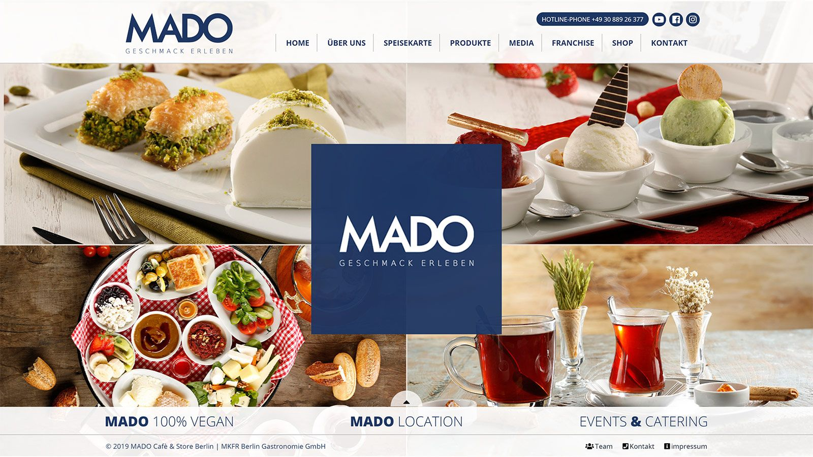 Mado Cafe Store Berlin Geschmack Erleben Restoran
