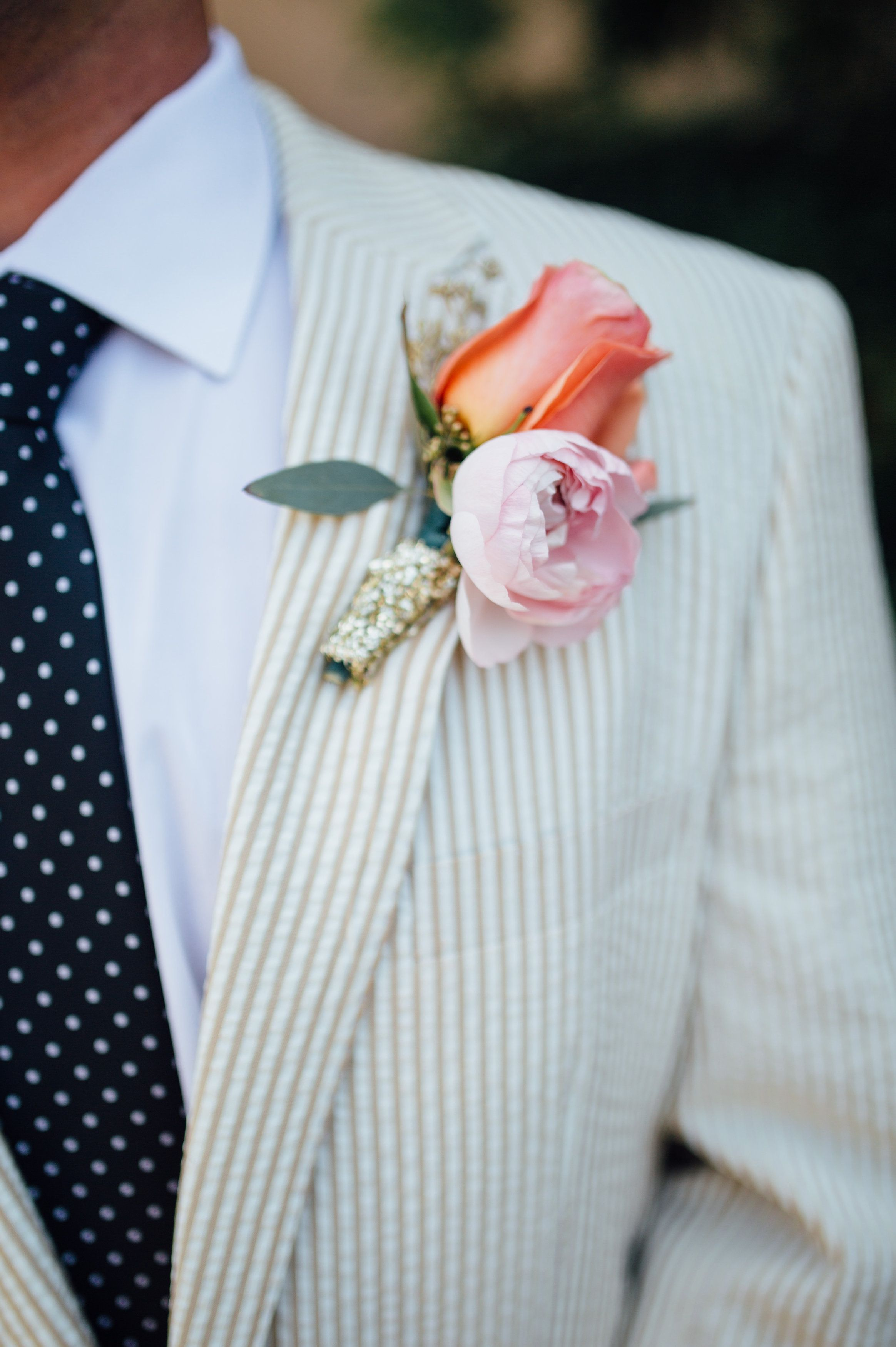 This groom\'s style is so slick! View the full wedding here: http ...