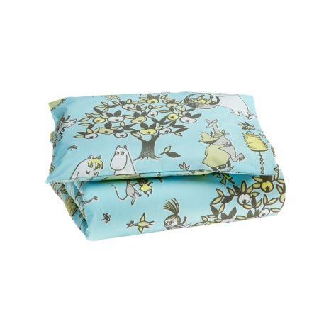 Vauvan pussilakanasetti Juhlamuumi sininen http://lahjaopas.info/lahjat/vauvan-pussilakanasetti-juhlamuumi-sininen/ #lahjaideat #vauvalle #muumi
