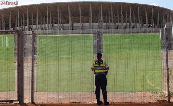 PF cumpre mandados contra suspeitos de superfaturar obras do Mané Garrincha