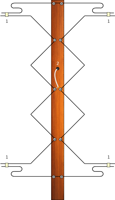Gray Hoverman antenna with NARODs (construction detail