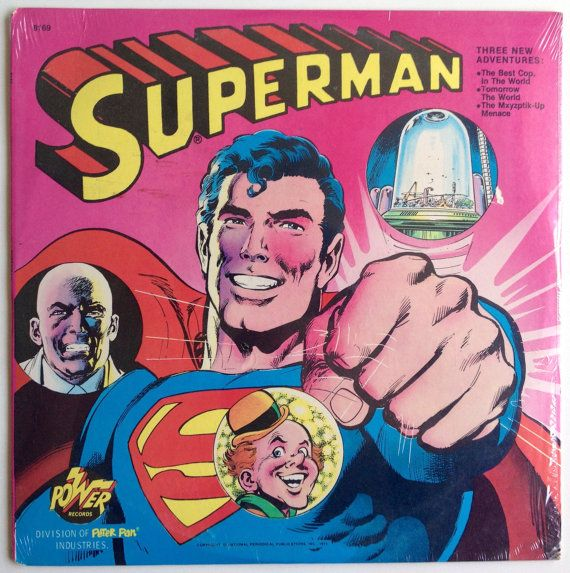 Superman SEALED LP Vinyl Record Album, Power Records ...