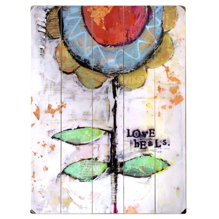 Love Heals Wall Art